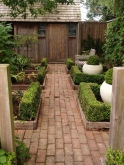 The shed path - calm and contemplative