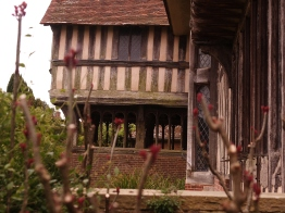 Entrance to Dixter Great Hall