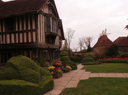 Great Dixter - Great Hall portico